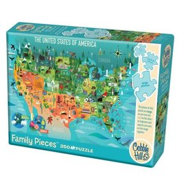 Cobble Hill The United States of America - 350 Piece Puzzle