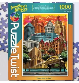 Puzzle Twist Stars Over St. Paul - 1000 Piece Puzzle