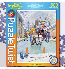Puzzle Twist The Face Off - 500 Piece Puzzle