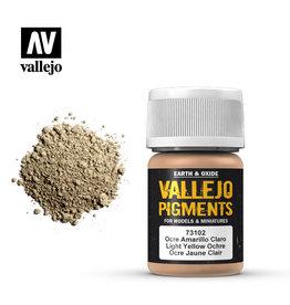 Vallejo 73.102 - Light Yellow Ochre Pigment