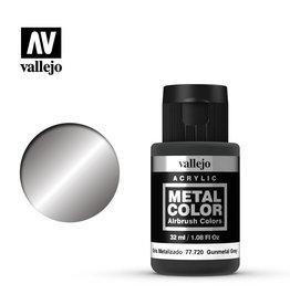 Vallejo 77.720 - Metal Color Gunmetal Grey