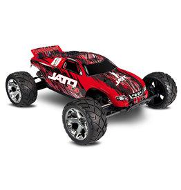 Traxxas 1/10 Jato 3.3 2WD Nitro Stadium Truck - Red