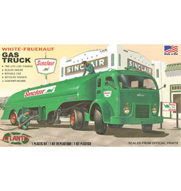 "Atlantis 1/48 White-Fruehuf Gas Truck ""Sinclair"""