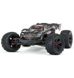 Arrma 1/5 Kraton 8S 4WD EXtreme Bash Roller Monster Truck - Black