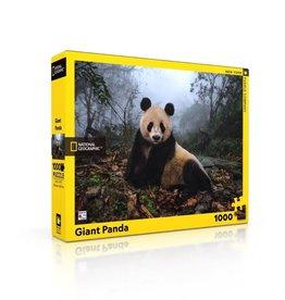New York Puzzle Co Giant Panda - 1000 Piece Puzzle