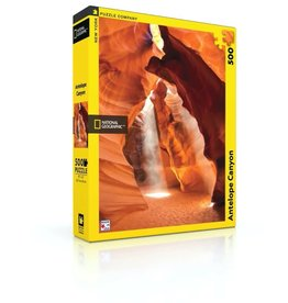 New York Puzzle Co Antelope Canyon - 500 Piece Puzzle