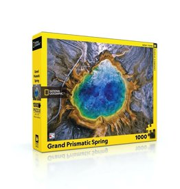New York Puzzle Co Grand Prismatic Spring - 1000 Piece Puzzle
