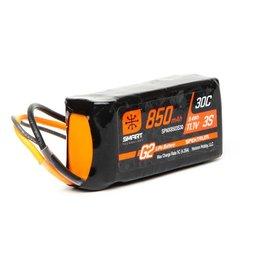 Spektrum SPMX8503S30 - 11.1V 850mAh 3S 30C Smart G2 LiPo Battery: IC2