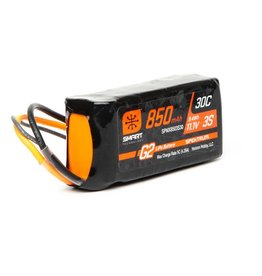 Spektrum SPMX8503S30 - 850mAh 3S 11.1V Smart G2 30C (IC2)