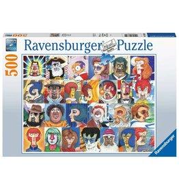 Ravensburger Typefaces - 500 Piece Puzzle