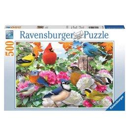 Ravensburger Garden Birds - 500 Piece Puzzle