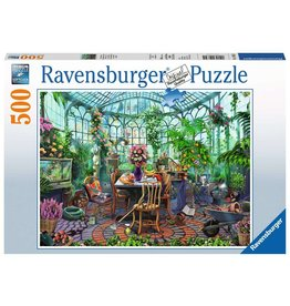 Ravensburger Greenhouse Mornings - 500 Piece Puzzle