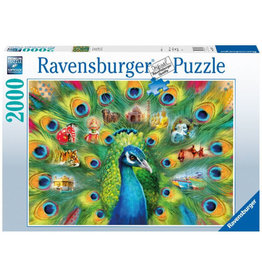 Ravensburger Land of the Peacock - 2000 Piece Puzzle