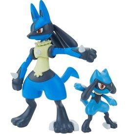 Bandai Pokemon: Riolu & Lucario