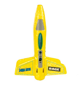 Rage RC Spinner Missile Electric Free-Flight Rocket - Yellow