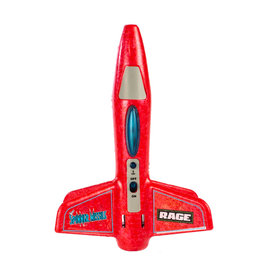 Rage RC Spinner Missile Electric Free-Flight Rocket - Red