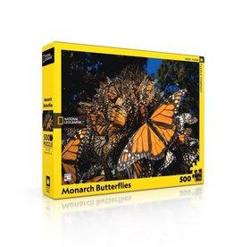 New York Puzzle Co Monarch Butterflies - 1000 Piece Puzzle