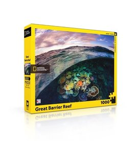 New York Puzzle Co Great Barrier Reef - 1000 Piece Puzzle