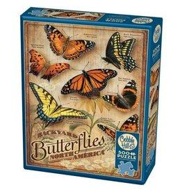 Cobble Hill Backyard Butterflies - 500 Piece Puzzle