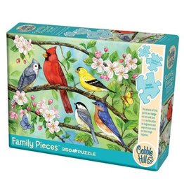 Cobble Hill Bloomin' Birds - 350 Piece Puzzle