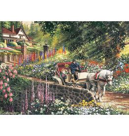 Cobble Hill Carriage Ride - 275 Piece Puzzle