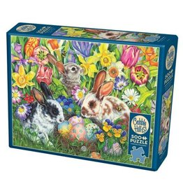 Cobble Hill Easter Bunnies - 500 Piece Puzzle