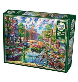 Cobble Hill Amsterdam Canal - 1000 Piece Puzzle