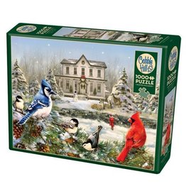 Cobble Hill Country House Birds - 1000 Piece Puzzle