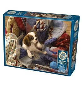 Cobble Hill Laundry Day - 500 Piece Puzzle