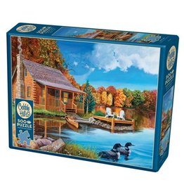 Cobble Hill Loon Lake - 500 Piece Puzzle