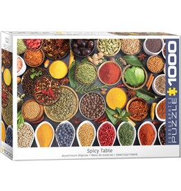 Eurographics Spicy Table - 1000 Piece Puzzle