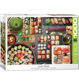 Eurographics Sushi Table - 1000 Piece Puzzle
