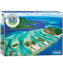 Eurographics Coral Reef - 1000 Piece Puzzle