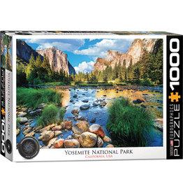 Eurographics Yosemite National Park, California - 1000 Piece Puzzle
