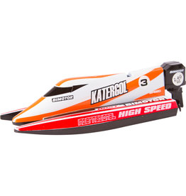 Invento RC Mini Race Boat - Red