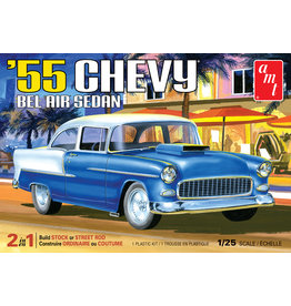 AMT 1119 - 1/25 1955 Chevy Bel Air Sedan Car