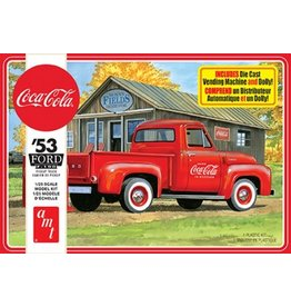 AMT 1144 - 1/25 1953 Ford Pickup (Coca-Cola)