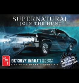 AMT 1124 - 1/25 1967 Chevy Impala 4-Door - Supernatural