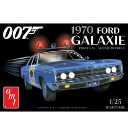 AMT 1172M - 1/25 1970 Ford Galaxie Police Car (James Bond)