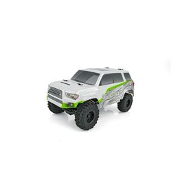 Associated 1/24 Enduro24 Trailrunner 4x4 RTR - Silver/Green