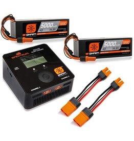 Spektrum SPMXPS8HC - Spektrum Smart PowerStage Bundle 8S 100C