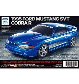 Tamiya 1/10 1995 Ford Mustang SVT Cobra R - TT-01E Chassis Kit