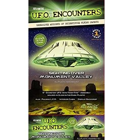Atlantis 1007G - Monument Valley UFO - Lighted - Glow in the Dark