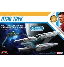 Polar Lights 957 - 1/1000 Star Trek USS Grissom/Klingon BoP (2pk)