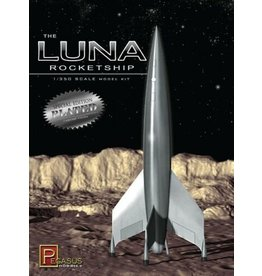 Pegasus Hobbies 9410 - 1/350 Luna Rocketship
