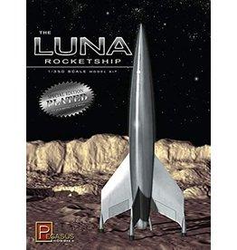 Pegasus Hobbies 9310 - 1/350 Luna Rocketship - Silver Plated