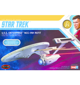 Polar Lights 974 - 1/1000 Star Trek U.S.S. Enterprise Refit Wrath of Khan Edition