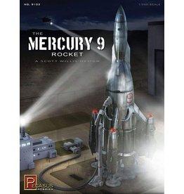 Pegasus Hobbies 9103 - 1/350 Mercury 9 Rocketship