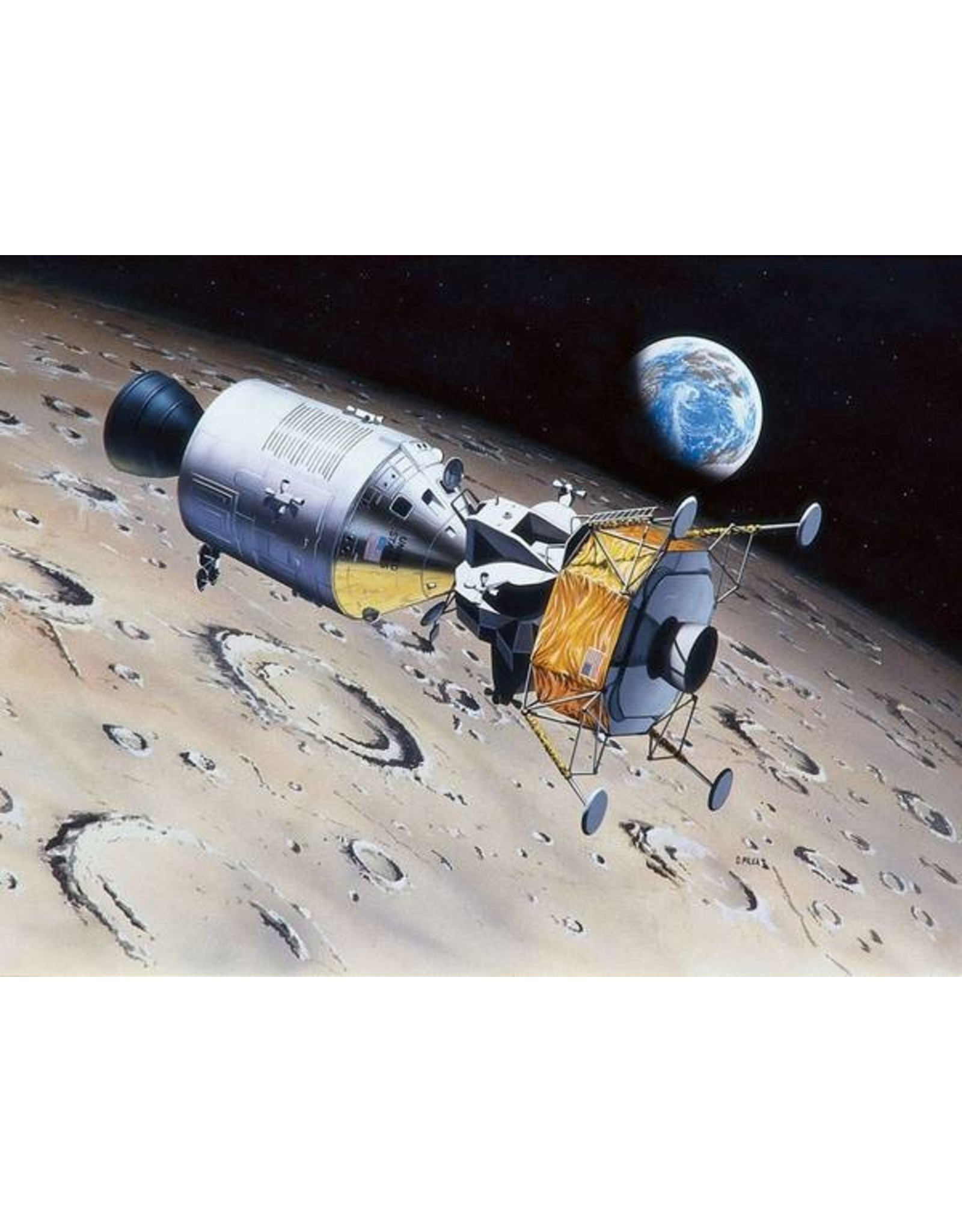 Revell 3700 - 1/96 Apollo 11 Columbia & Eagle