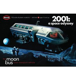 Moebius Models 2001-1 - 1/55 2001: A Space Odyssey Moon Bus
